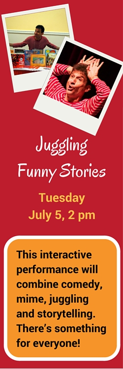 Juggling Funny Stories with Chris Facione